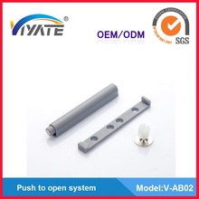Furniture hardware iron and plastic magnets for cabinet doors
