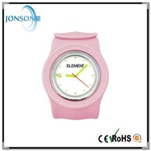 custom design cheap promotional silicone slap watch from china shenzhen factory