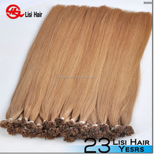 full cuticle 2g 1g 0.8g trade assurance remy tangle&shedding free keratin fusion hair 100 bonds
