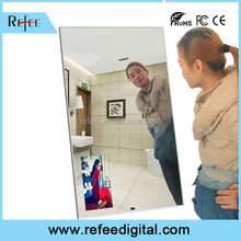 Waterproof 42 Inch Motion Sensor Magic Mirror / LCD / LED ad player magic mirror / magic mirror