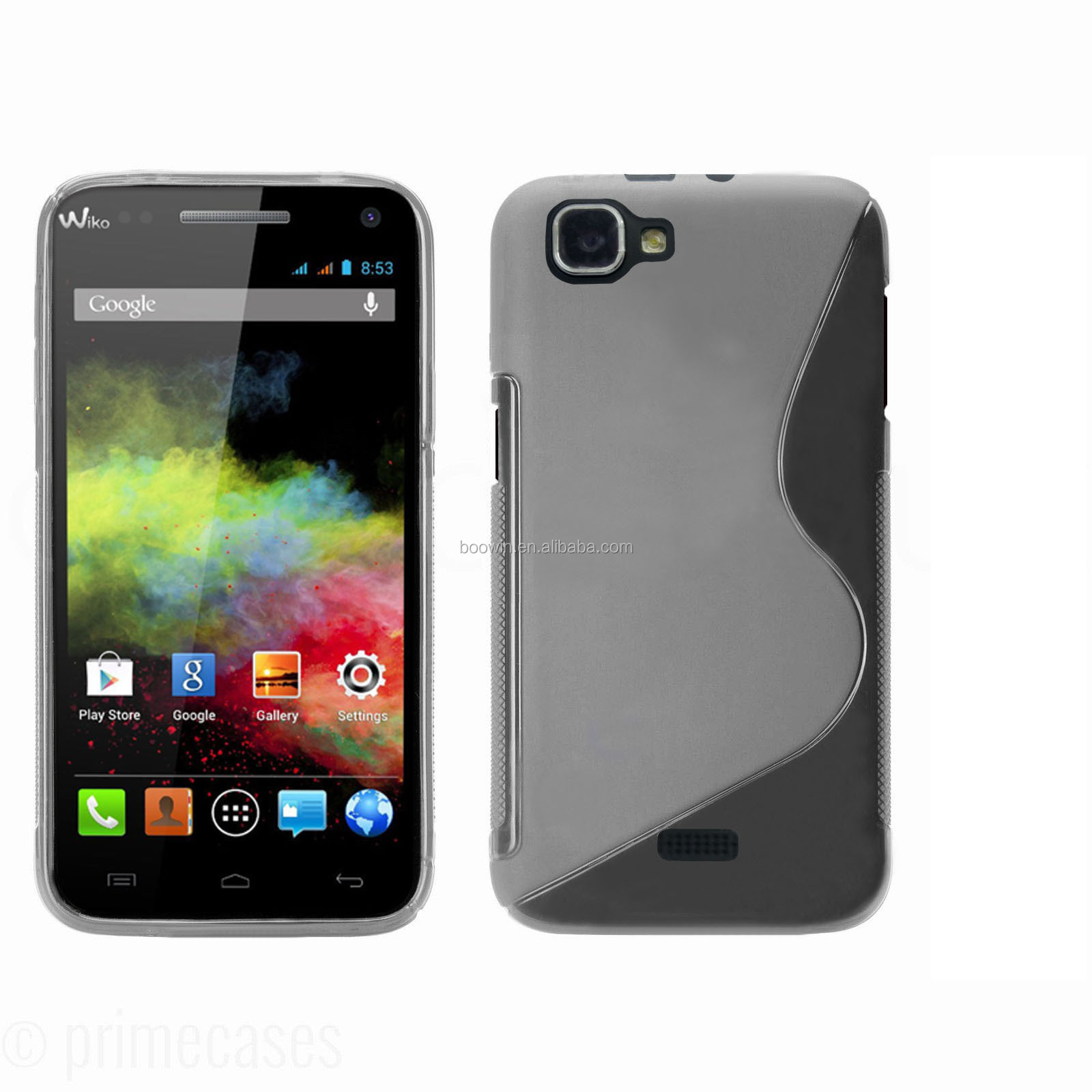 for wiko rainbow colorful s line case tpu case high quality factory price
