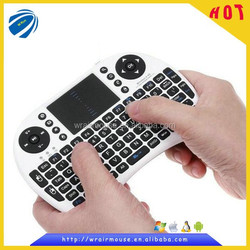 both hand universal remote air wireless mouse wireless keyboard & mouse for google tv
