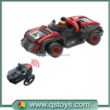Hot sale Shantou chenghai toys building blocks DIY radio control car assembled toys