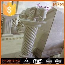 natural well polished beautiful decorative modern garden stone column pergola design