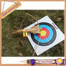 Wooden toy crossbow set with target,crossbow and sucker arrow