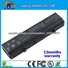 6 las células de la batería del ordenador portátil para dell inspiron 1525 1526 1545 v500