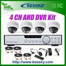 1.0/1.3 Megapixel HD CCTV Camera kit ahd camera test monitor 2.8-12mm Manual Zoom Lens