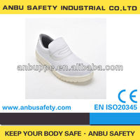 2013 new arrival Italy style anti-bacterial white slip on hospital shoes
