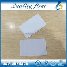 13.56MHz Printable Ntag216 NFC Blank Card