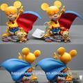Caliente juguetes custom figura animal de ratón