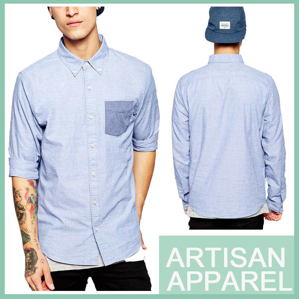 Wholesale Clothing Garment Mens Shirts Latest Shirt