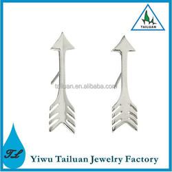 Arrowhead earrings, arrow stud earrings, fashion jewellery