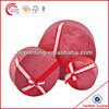 Round cardboard boxes with ribbon bow on top for wholesale