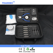 2015 Hottest YEAHSMO coil jig diy tool kit / vape tools / rba rta rda Atomizer DIY Tool kit for ipv d2 vape