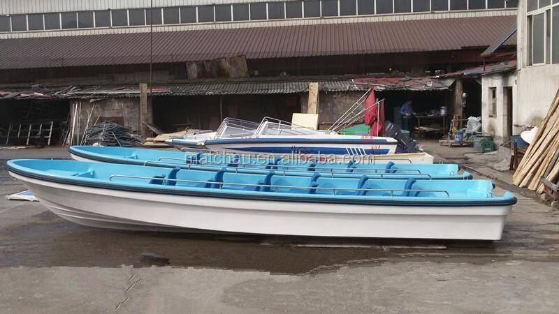 7m outboard engine petrol drive fiberglass small work for Small motor boat for sale