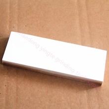 White aluminum oxide sharpening stone/oil stone