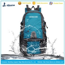 Waterproof hiking travel backpack classic travel bag design only for you