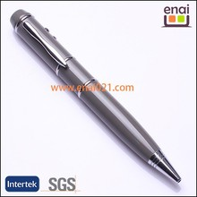 cheap and super delicated gift USB flash drive ball pen with 2GB or 8GB and laser porinter on top