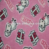 100% Polyester Custom Sheep Printing Polar Fleece Fabric