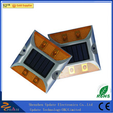 Professional IP68 Waterproof Garden Cat Eye Dock Deck Solar Road Stud Light Carbon Frame Road