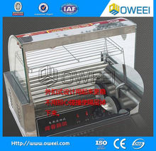 High performance french muffin hot dog machine/ corn hot dog grill making machine/ hot dog warmer machine with best price