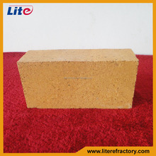 high refractoriness red clay bricks for wood oven