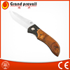 Outdoor survival knife folding with Rose wood handle