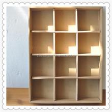High quality brown paper storage box,pure paper craft storage box