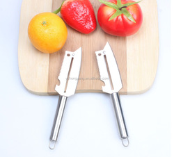 2015 High quality Multifunctional Peelerfruit and vegetable cutter/stainless steel handle potato peeler manual