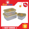 Hot sale factory supplied disposable microwave pp food container