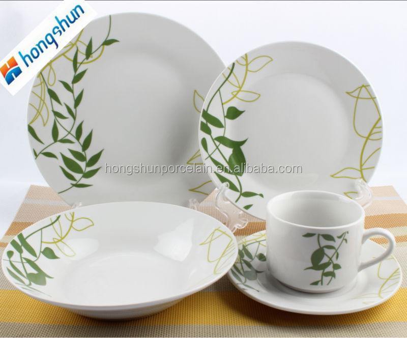 Moderne porcelaine fine porcelaine ensemble de vaisselle moderne porcelaine - Vaisselle japonaise paris ...