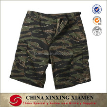 Tiger Stripe Camouflage Military Vintage Paratrooper Army Shorts pants