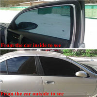 New Product Non-glue Removable Car Glass Protection Static Cling Solar Window Film