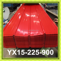 Colored PPGI High Quality Coated Metal Roof