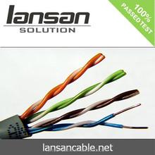 cat5e UTP awg24 networking cable, pass fluke test