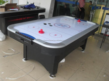Top quality air hockey table with 2 pushers and 2 pucks,outdoor air hockey table