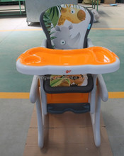 EN14988 approved restaurant baby high chair
