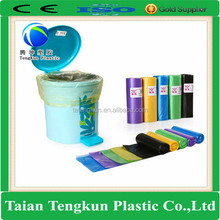 garbage industry use plastic hdpe big designer bin liner bag