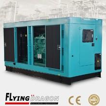 200 kw diesel electric power plant generator,250 kva Sweden original Volvo penta low noise generator dynamo