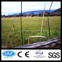 China Anping galvanized iron wire horse/sheep/cattle/deer/cow fence panel