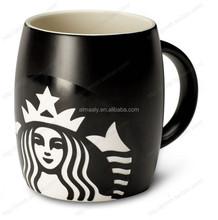 white promotional mug ceramic coffee mug black mug