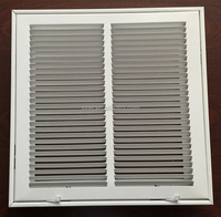Hvac double deflection ventilation stainless steel grills