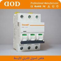 C45 25A 32A 40A 63A indoor circuit breaker supplementary circuit protectors