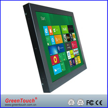 10.4 inch open frame touch monitor with VGA,DVI for industrial application