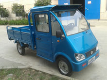 cabin four wheel electric cargo tricycle (ZF brand)
