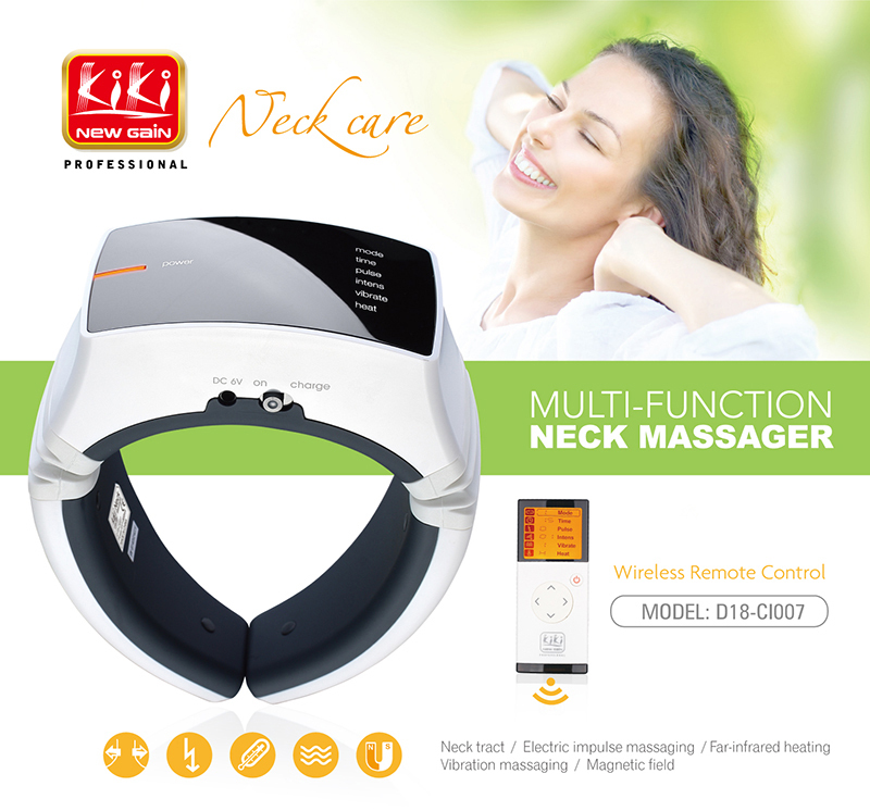 fashion design.health care products.electric Neck Massager.body personal massager