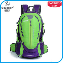 waterproof fashion camping hiking backpack sport day backpack bag