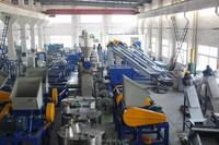 Series of crusher and washing film plastic machine