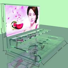 Shenzhen factory direct sale clear custom made acrylic lipstick organizer