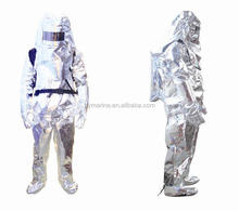 Heat Resistant Materials Aluminized Fire Proximity Suit